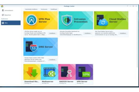 Synology SRM (apps)