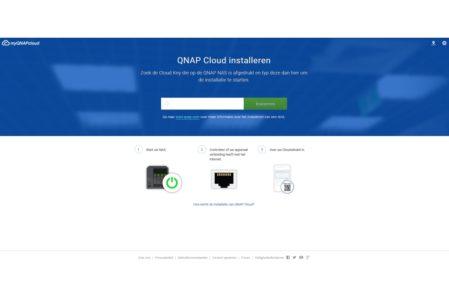 Qnap cloudinstallatie