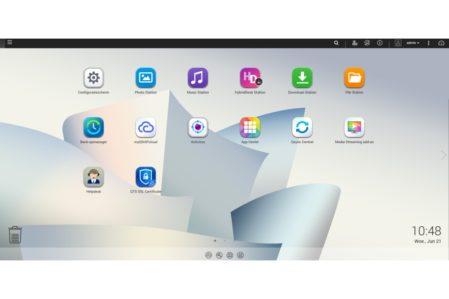 Qnap qts desktop