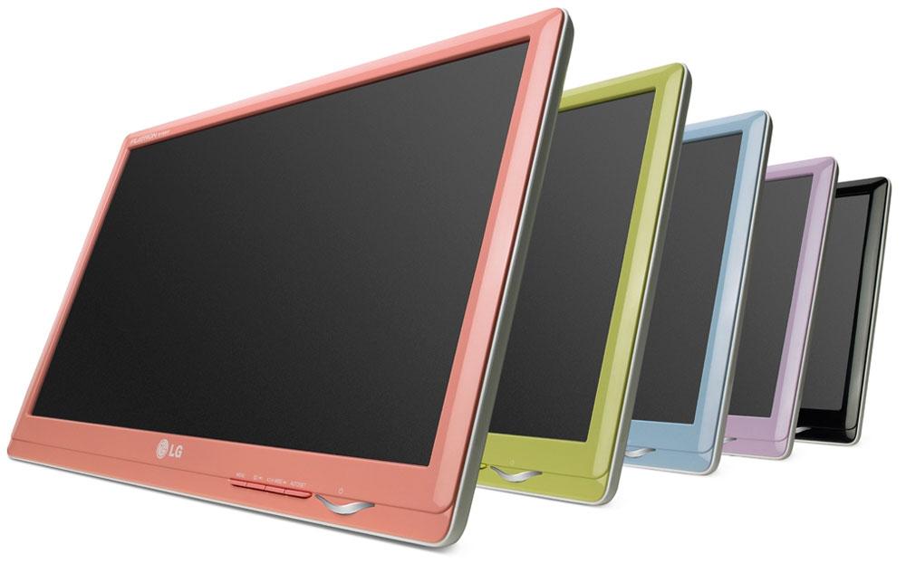 LG Color Pop beeldschermen