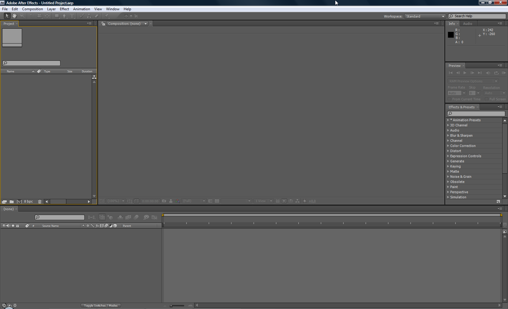 Adobe CS4 After Effects