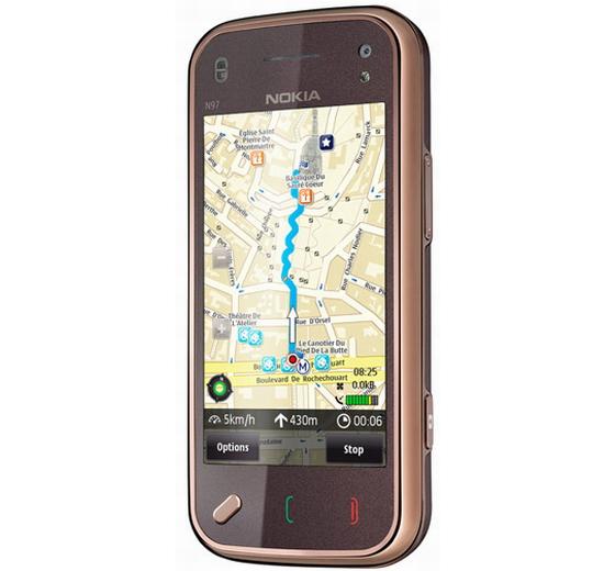 Nokia N97 mini met Ovi Maps
