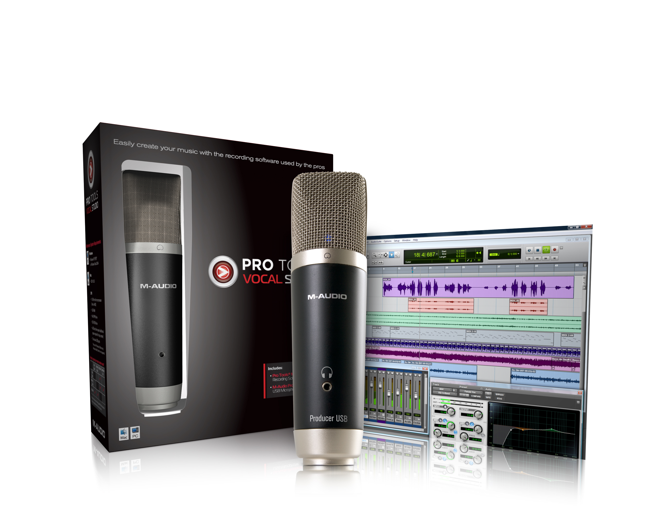 Avid ProTools Vocal Studio