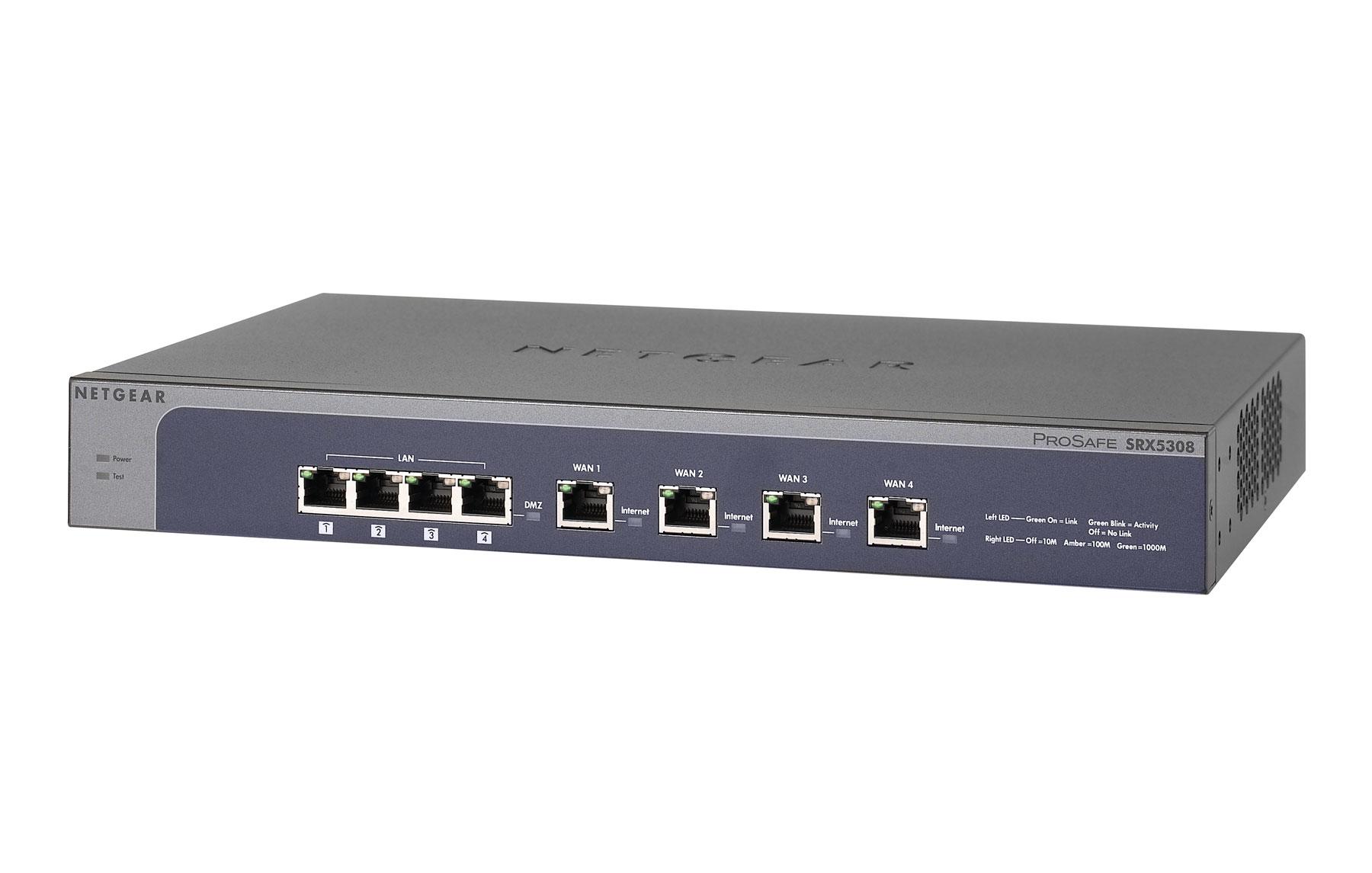 Netgear SRX5308 firewall