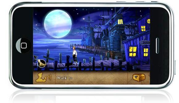 The Secret of Monkey Island op iPhone