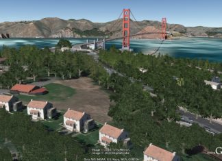 Google Earth 6 Goldengate
