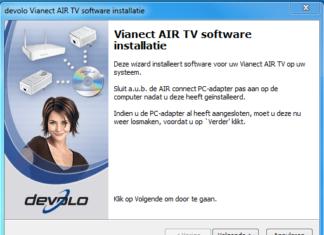 Devolo Vianect AIRTV installatie