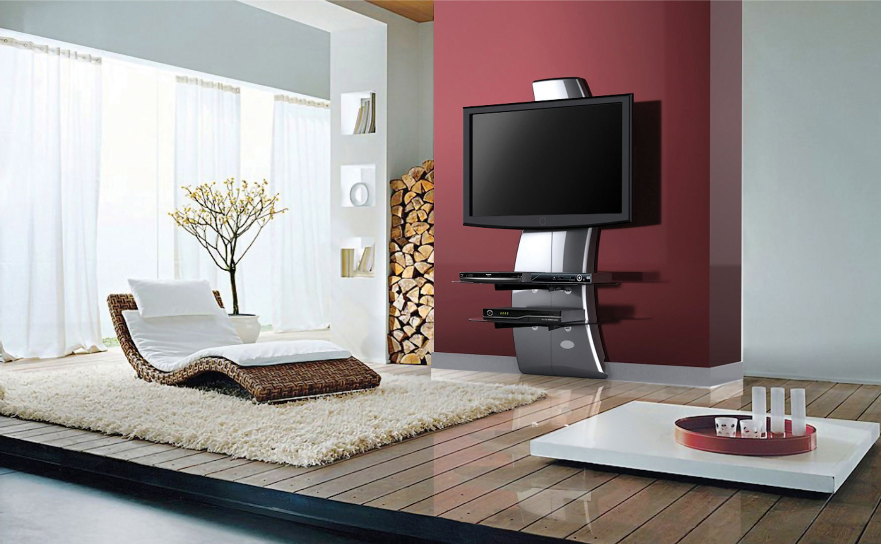 Meliconi ghost design 1000 en 2000 tv meubelen diskidee for Design 2000