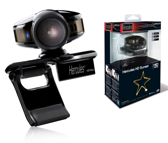 Hercules HD Sunset webcam