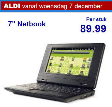 aldi netbook 7 inch android netbook preview diskidee. Black Bedroom Furniture Sets. Home Design Ideas