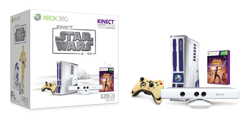 "Xbox 360 Limited Edition ""Kinect Star Wars"" spelconsolebundel"