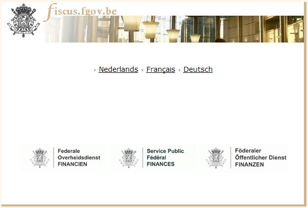 website belgische fiscus