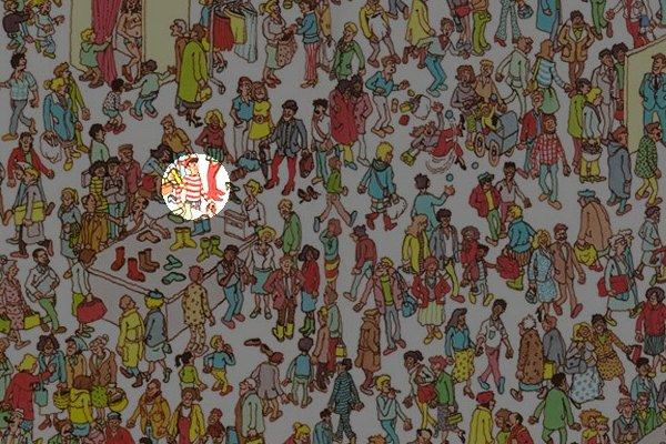 Waar is Wally? Dáár is Wally!