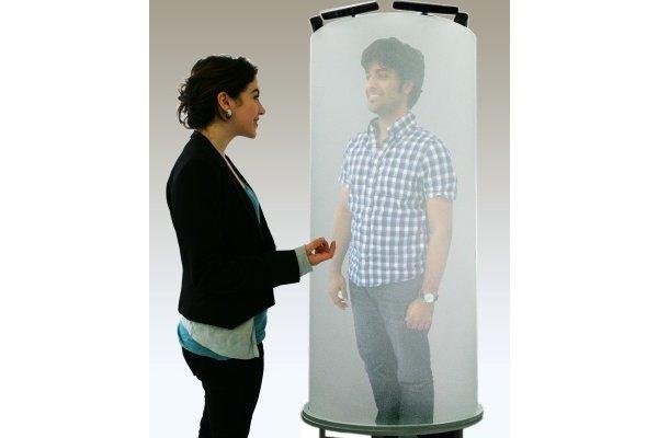 TeleHuman 3D videoconferentiesysteem