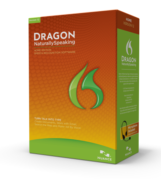 Nuance Dragon NaturallySpeaking 12 Home