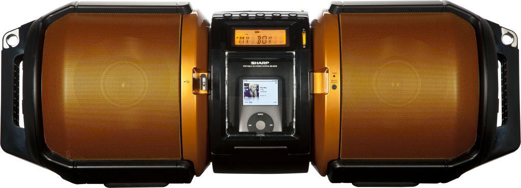 Sharp GX-M10H Boombox