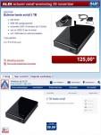 De Medion MD 90148 (P83790) in de Belgische (bovenaan) en Nederlandse (onderaan) online folder