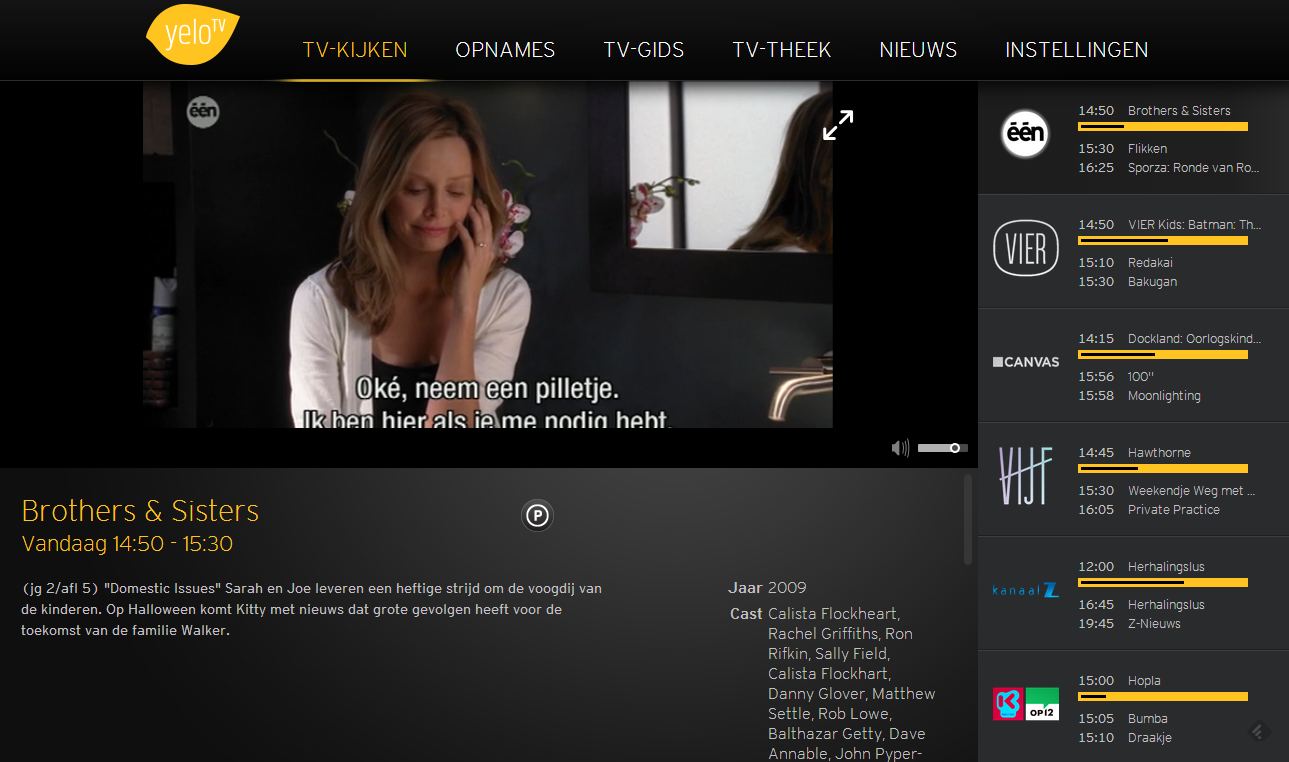 Yelo TV Live tv kijken