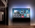 Zwevend design van de DesignLine tv