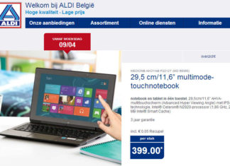 Medion Akoya MD99360 (P2212T) multimode-touchnotebook