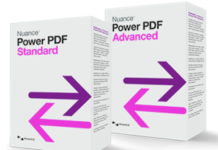 Nunace PowerPDF Standard en Advanced