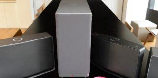 LG Music Flow speakers