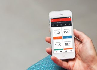 Honeywell evohome app op iPhone