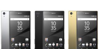 Sony Xperia Z5 Colour Range