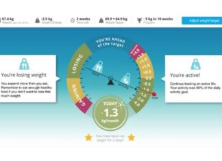Polar Balance Connected Smart Scale Weight Loss Speedometer