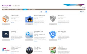 Netgear ReadyNas apps