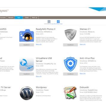 Netgear ReadyNas apps