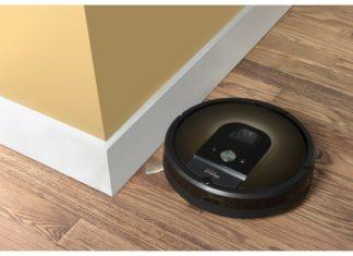 Roomba 980 met zijborstel