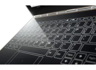 Lenovo Yoga Book Halo Keyboard