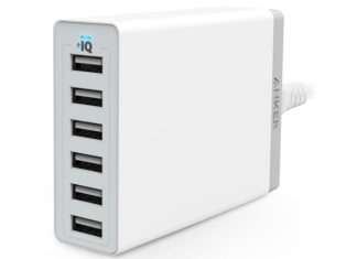 Anker 60W PowerPort 6 USB Charger