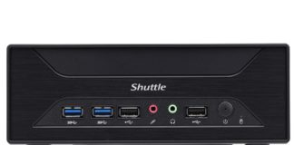 Shuttle XH110G Barebone mini-pc