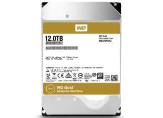WD Gold 12 TB hard drive