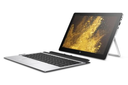 HP Elite X2 1012G2 met reistoetsenbordcover