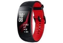 Samsung Gear Fit2 Pro large sm-r365nzralux