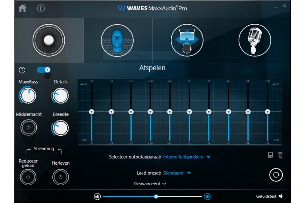 Waves MaxxAudio Pro-app