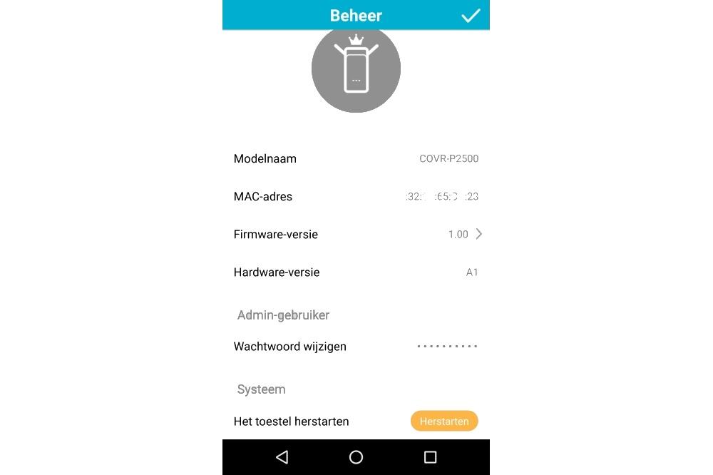 D-Link Wifi app met COVR-P2502