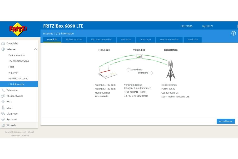 AVM FRITZ!Box 6890 LTE