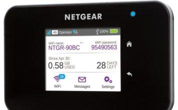 Netgear AirCard 810s mobiele hotspot