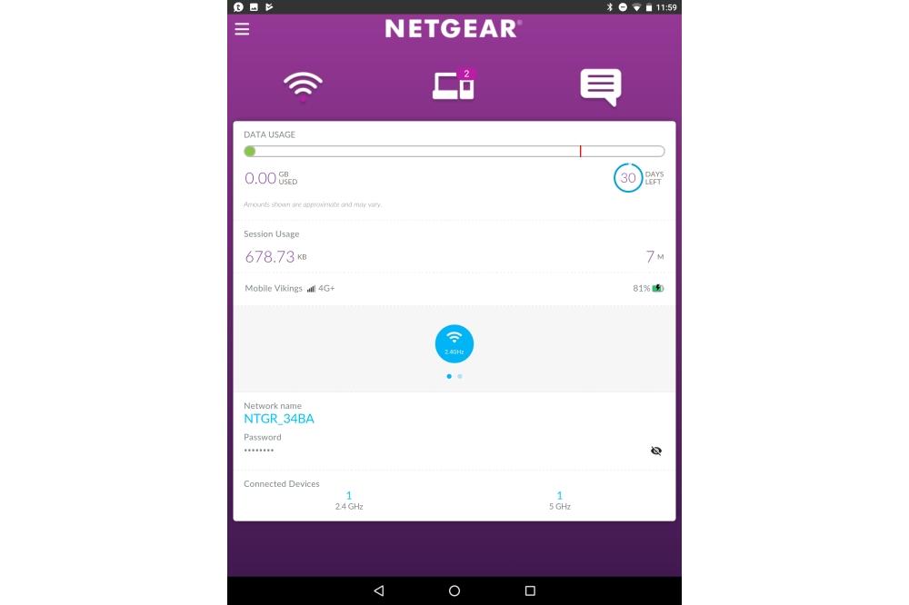 Netgear M1 app