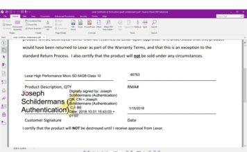 Nuance Power PDF 3 digitaal ondertekenen