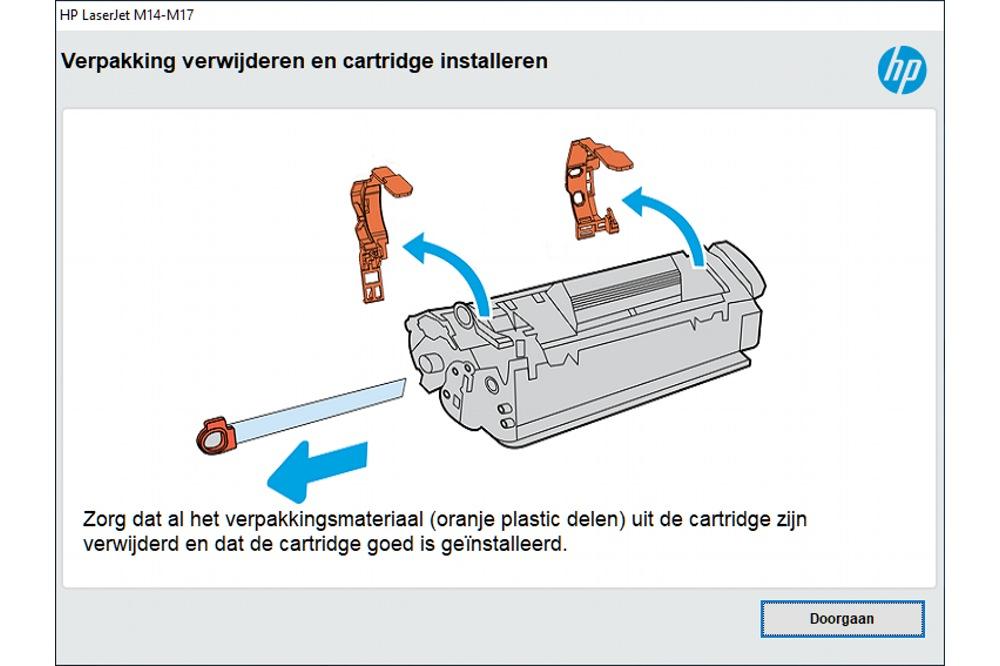 HP LaserJet M15w basissoftware