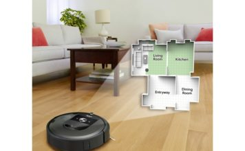 iRobot Roomba i7+ smart mapping