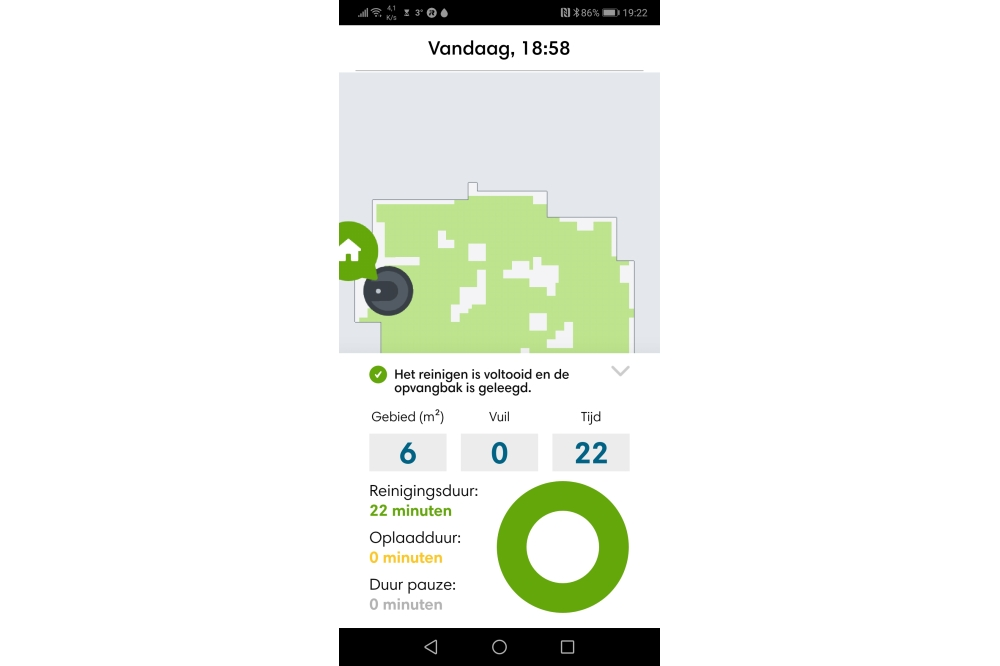 iRobot Roomba HOME app