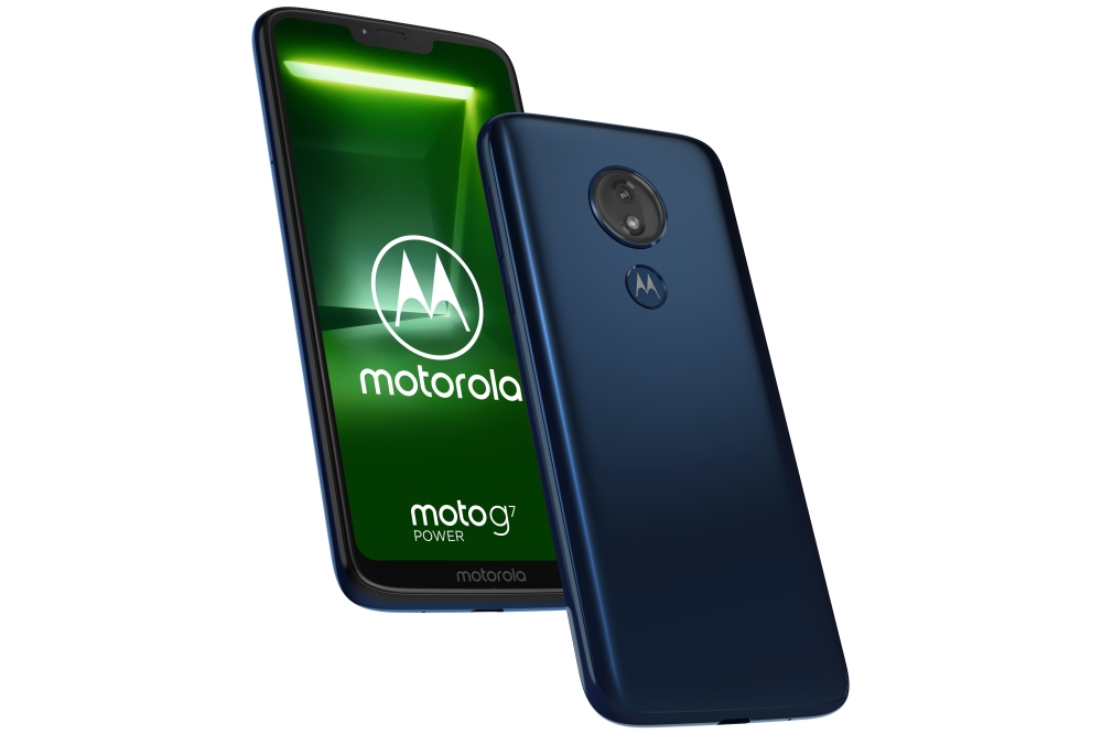 Moto G7 Power Marine Blue