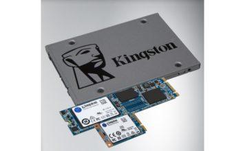 Kingston UV500: dezelfde ssd in drie vormen