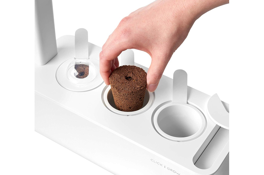 Click & Grow Smart Grow 3: capsule inbrengen